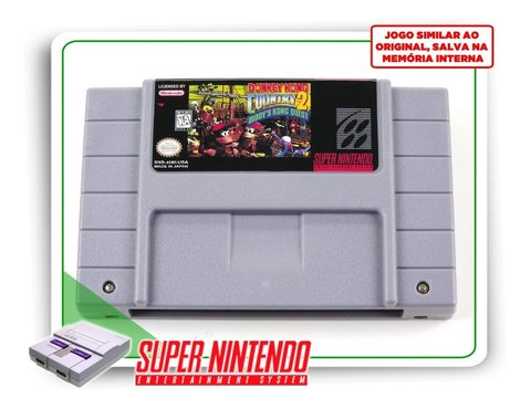 Donkey Kong Country 2 Super Nintendo Snes - Novo Com Save