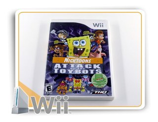 Nicktoons Attack Of The Toybots Original Nintendo Wii