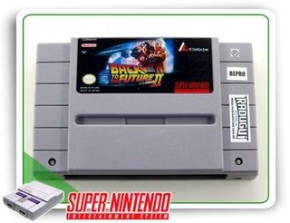 Super Back To The Future 2 Original Super Nintendo - Repro