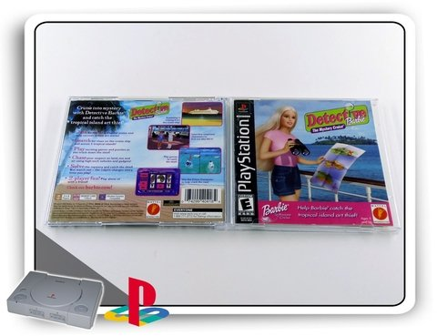 Detective Barbie The Mystery Cruise Orig. Playstation 1 Ps1 - comprar online