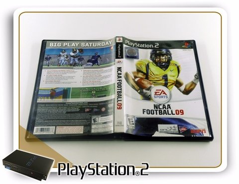 Ncaa Football 09 Original Playstation 2 PS2 - comprar online
