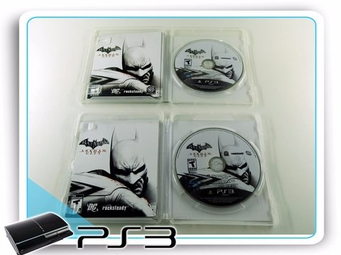 Batman Arkham City Original Playstation 3Ps3 - comprar online