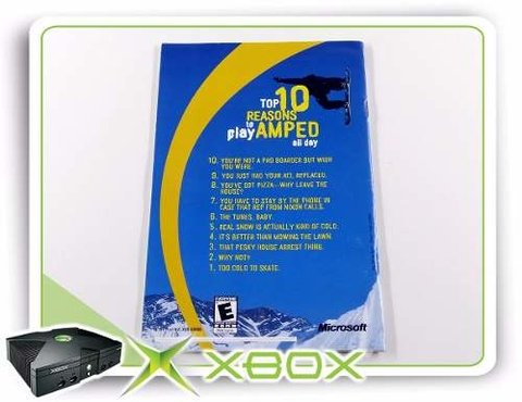 Manual Amped Original Xbox Clássico - comprar online