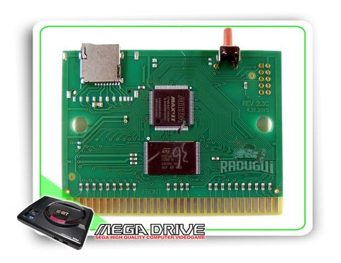 Cartucho Everdrive China Version Para Mega Drive + 8gb - loja online