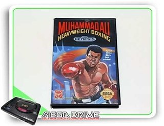 Muhammad Ali Heavyweight Boxing Sega Mega Drive Original