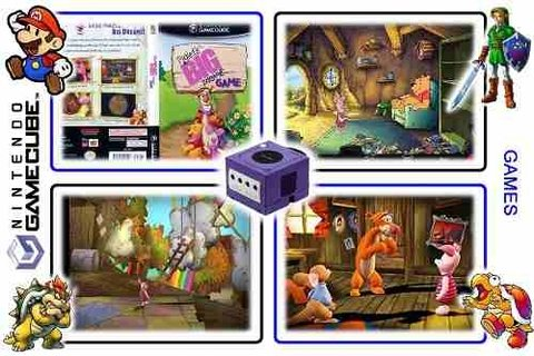 Piglets Big Game Original Gamecube - loja online