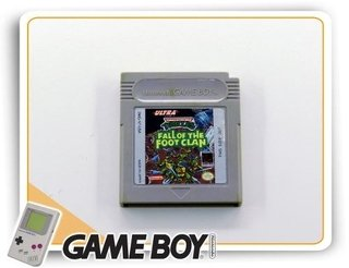 Tmnt Fall Of The Foot Clan Original Nintendo Game Boy