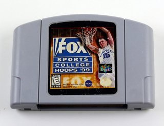 Fox Sports College Hoops 99 Original Nintendo 64 N64