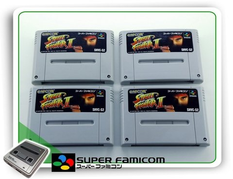 Street Fighter 2 Original Super Famicom Sfc - comprar online