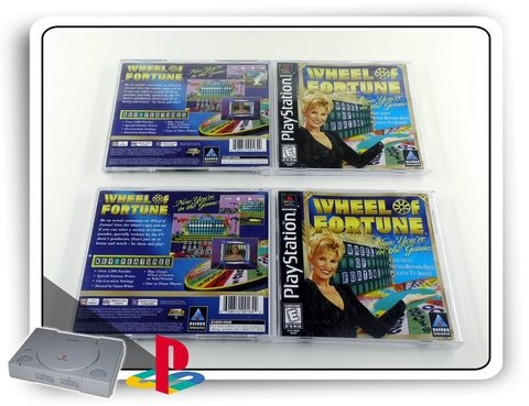 Wheel Of Fortune Original Playstation 1 Ps1 - comprar online