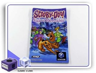 Manual Scooby-doo Night Of 100 Frights Original Gamecube