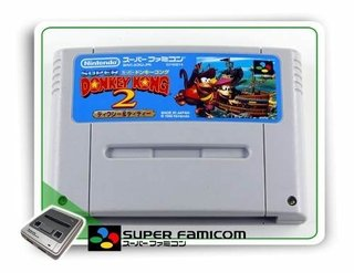 Donkey Kong Country 2 Original Super Famicom Sfc