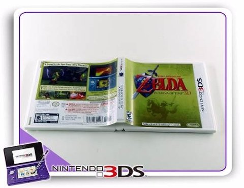 The Legend Of Zelda Ocarina Of Time 3d Original Nintendo 3ds - comprar online
