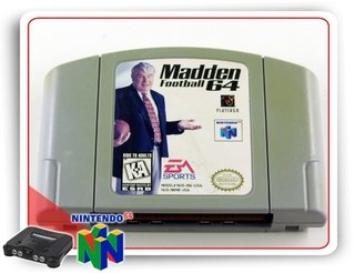 Madden Football 64 Original Nintendo 64 - N64