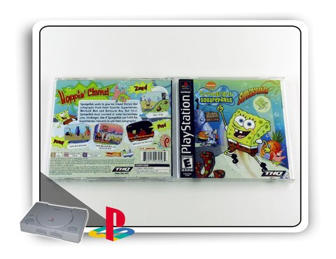 Spongebob Squarepants Supersponge Original Ps1 Playstation 1 na internet