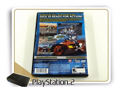 Dice Dna Integrated Cybernetic Enterprises Original PS2 - comprar online