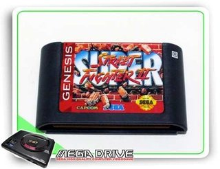 Super Street Fighter 2 Original Sega Mega Drive / Genesis