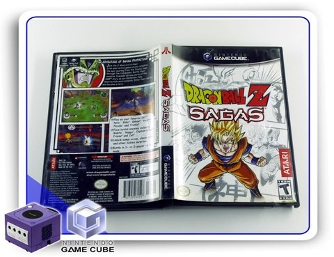 Dragon Ball Z Sagas Original Nintendo Gamecube na internet