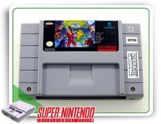 Battletoads & Double Dragon Original Super Nintendo - Repro