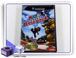 Mario Superstar Baseball Original Nintendo Gamecube