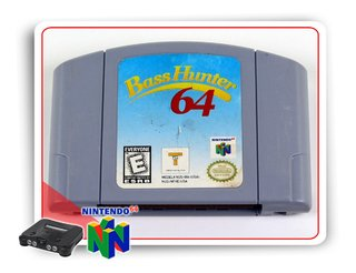 Bass Hunter 64 Original Nintendo 64 N64