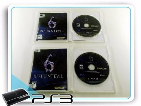 Resident Evil 6 Original Playstation 3 PS3 - comprar online