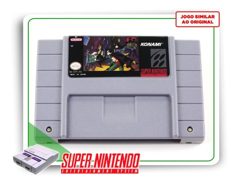 The Adventures Of Batman & Robin Super Nintendo Snes - Novo