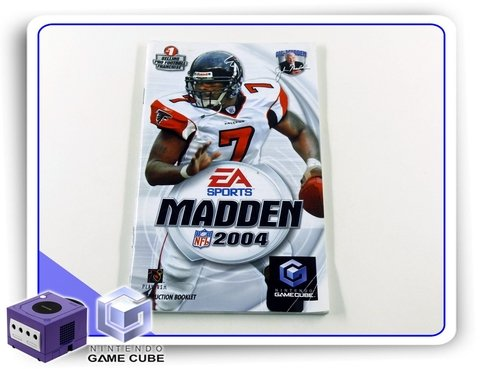 Manual Madden Nfl 2004 Original Nintendo Gamecube