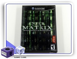 Enter The Matrix Original Nintendo Gamecube