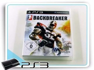 Backbreaker Original Playstation 3 PS3