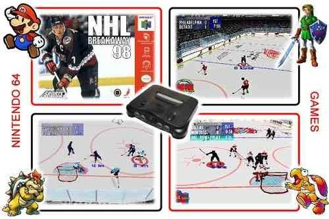 Nhl Breakaway 98 Original Nintendo 64 N64 na internet