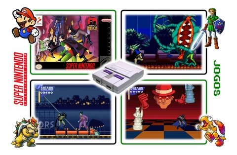 Imagem do The Adventures Of Batman & Robin Super Nintendo Snes - Novo