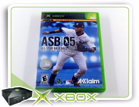 All-star Baseball 2005 Original Xbox Clássico Ntsc