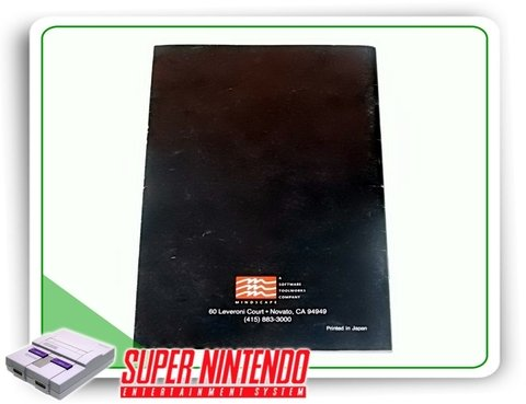 Manual Wing Commander Original Snes Super Nintendo - comprar online