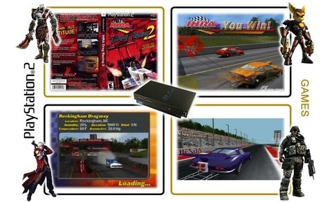 Ihra Drag Racing 2 Original Playstation 2 Ps2 - comprar online