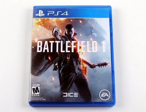 Battlefield 1 Original Ps4 Playstation 4 - Mídia Física