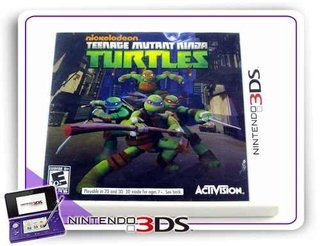 Teenage Mutant Ninja Turtles Danger Of The Ooze Original 3ds