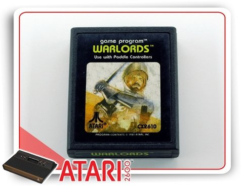 Warlords Cartucho Original Atari