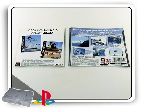 Encarte E Manual Pure Ride Original Playstation 1  Ps1 - comprar online