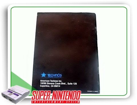 Manual Super Bowling Original Super Nintendo Snes - comprar online