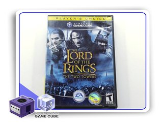 The Lord Of The Rings Two Towers Nintendo Gamecube Original