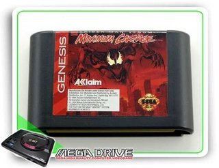 Spider-man Venom Maximum Carnage Original Mega Drive Genesis