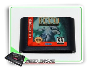 Ecco The Tides Of Time Original Sega Genesis / Mega Drive