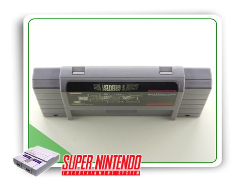 Williams Arcades Greatest Hits Original Super Nintendo Snes - comprar online