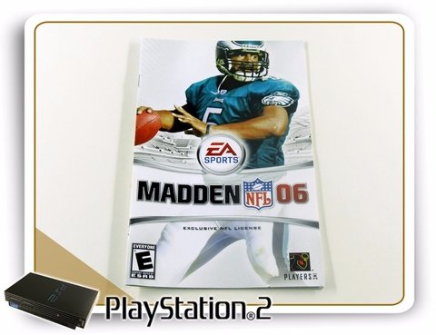 Encarte E Manual Madden Nfl 06 Original Playstation 2 Ps2 - comprar online
