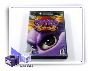 Spyro Enter The Dragonfly Original Gamecube