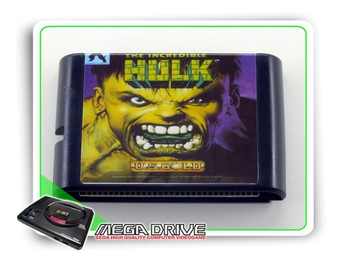 The Incredible Hulk Sega Mega Drive / Genesis - Novo