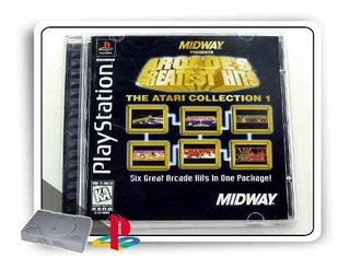Arcades Greatest Hits - Atari Original Playstation 1 Ps1
