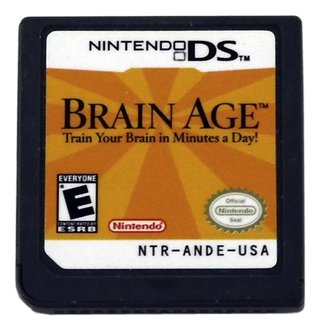 Brain Age Original Nintendo Ds