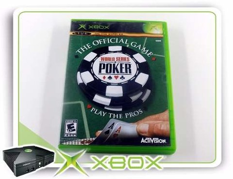 World Series Of Poker Original Xbox Clássico